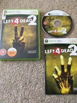 Left 4 Dead 2 Xbox 360 UK PAL **PLAYABLE ON XBOX ONE** segunda mano  Embacar hacia Spain