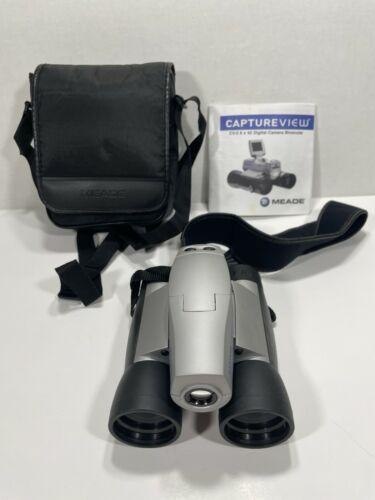 Meade Captureview 8x42 Digital Camera Binoculars CV5 Takes Pictures/Videos WORKS