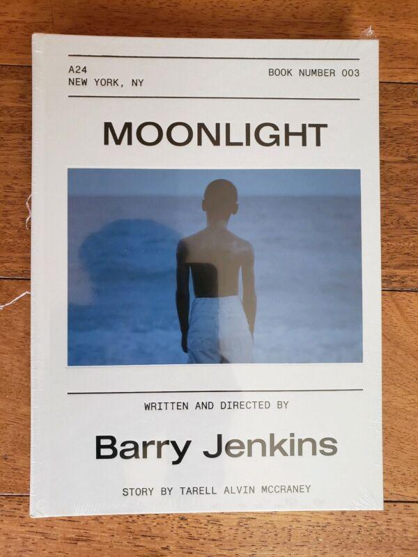 Moonlight Screenplay Book First Edition A24 Barry Jenkins Frank Ocean Hardcover