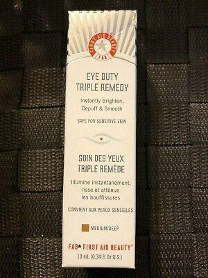 First Aid Beauty FAB Eye Duty Triple Remedy 0.34 fl. oz. 10ml.  (First Eye)