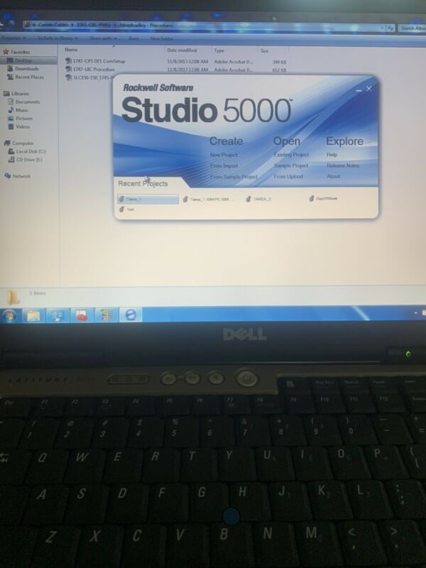 Industrial Automation PLC HMI Laptop Programming software Studio PRO 5000