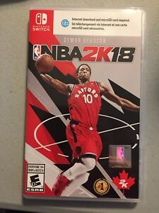 NBA 2K18 Nintendo switch $60