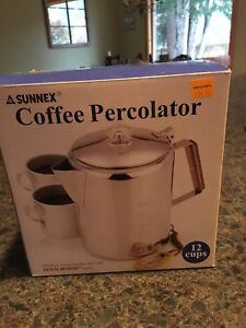 Coffee Percolator (stainless steel)