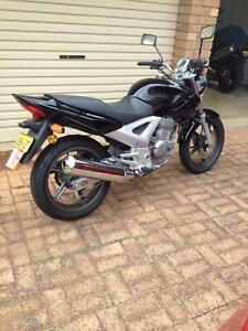 2006 Black Honda CBF 250