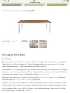 Dining Table Monash Tuggeranong Preview