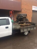 Scrap car and metal pick up, shipping, junk and dump runs.