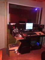 north east recording studio with vocal booth open 24/hrs 50$/hr