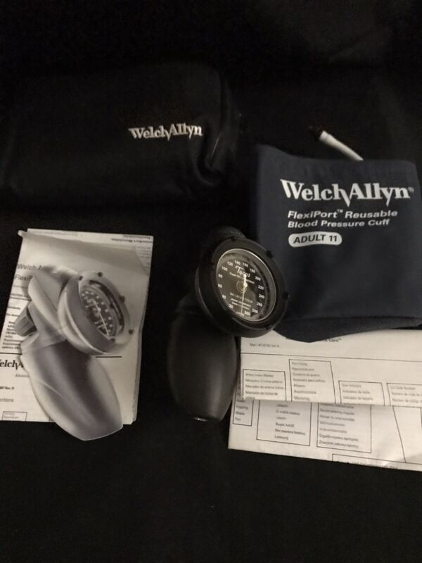 Welch Allyn Tycos Blood Pressure  Made In Germany Jewel Movement Shock Resistant