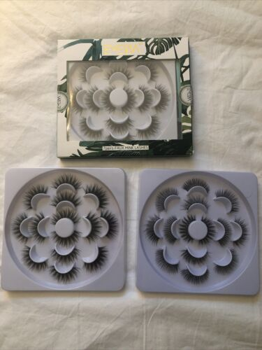Emeda Lot Of 42 Pairs Faux Mink Eyelashes Never Worn