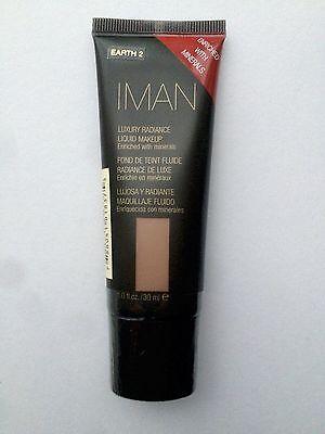 Iman Luxury Radiance Liquid Make Up 30ml Shade Earth 2