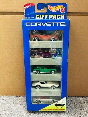Hot Wheels 5 Pack - CORVETTE '63 80's Stingray NEW