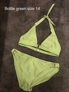 Ladies Green Swimwear