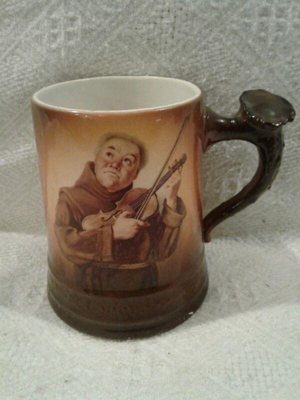 Vintage  Friar/ monk   mug/ stien