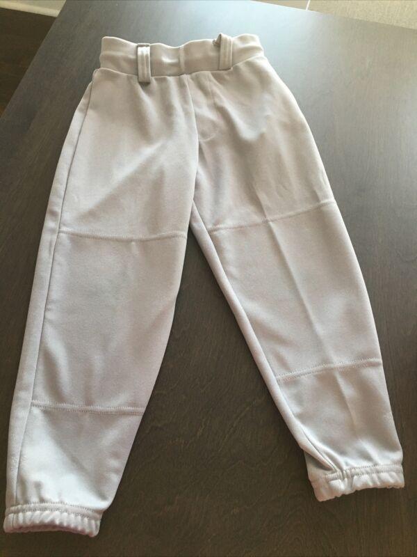 Youth T Ball Baseball Pants XXS 4 5 EUC Gray Easton brand