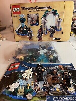 Lego 4192 Fountain of Youth Pirates of the Caribbean w/ Minifigures