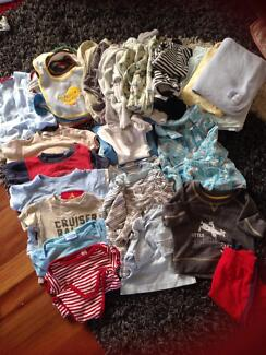 Box of size 00 baby clothes Everton Park Brisbane North West Preview