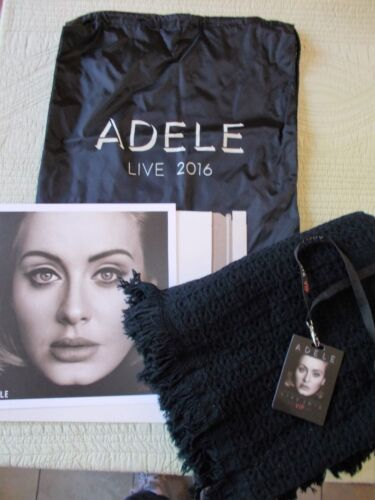 ADELE VIP PACKAGE, VIP TAG, Black BACKPACK, BLANKET, PICTURE 2016 BRAND NEW
