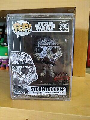 Star wars Funko pop Vinyl Futura Stormtrooper