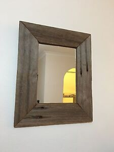 Wooden framed mirror Hornsby Hornsby Area Preview