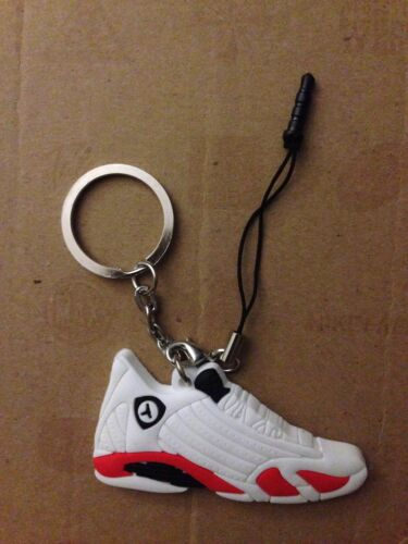 Air Jordan Retro 14 Sneaker Key Chain