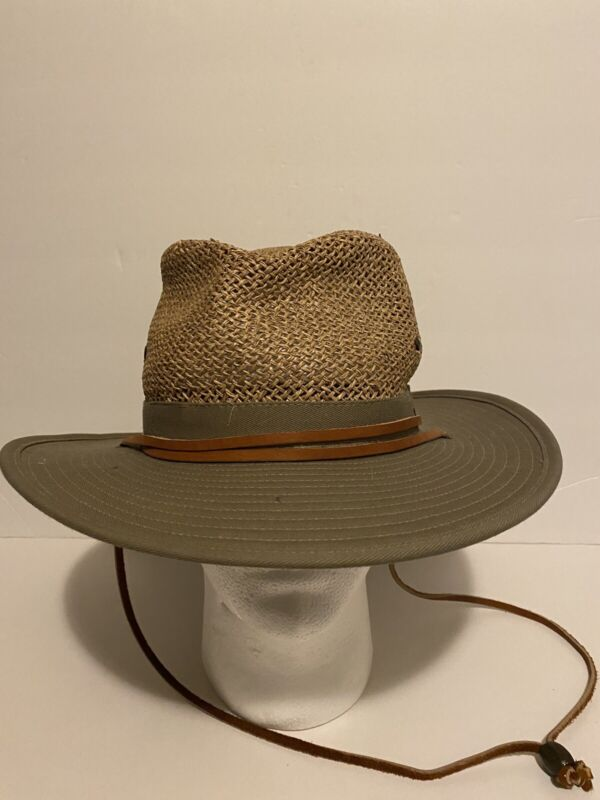 Vintage Stetson Brand Boy Scouts of America Hat Brown
