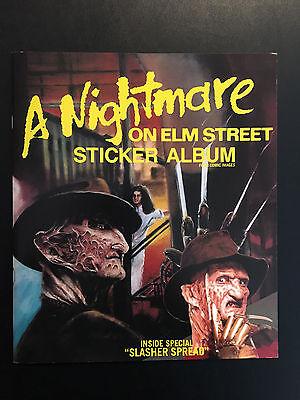1984 A Nightmare on Elm Street Sticker Book – Freddy Krueger