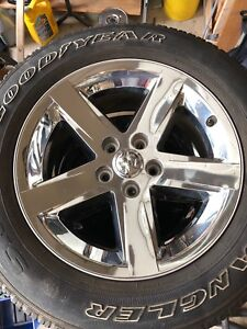 2017 Ram 1500 rims and tires