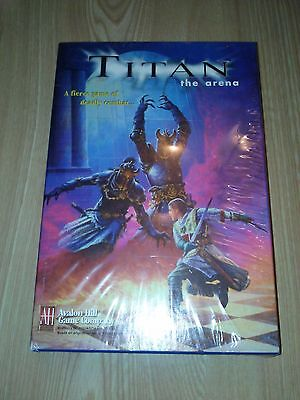 TITAN The Arena Game Box Set FACTORY SEALED NEW 1997 Avalon Hill