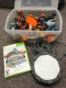 Xbox 360 sky landers giants game and pieces