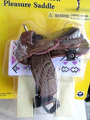 Breyer Cimarron Western Pleasure Saddle #2494 Age 8+ Traditional Scale: 1:9 NIP!