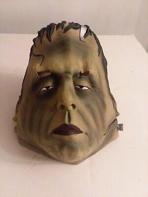 Halloween Mask The Paper Magic Group Vintage 1997 Frankenstein's Monster Green - Frankenstein Halloween Mask