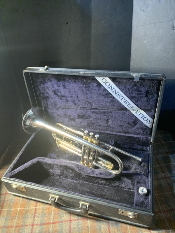Conn Connstellation vintage Long Cornet (A) used case and mouthpiece good Cond