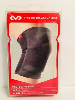 d356e4553b NEW - McDAVID 645 KNEE /ELBOW /SHIN PROTECTIVE PADS SIZE X-SMALL 7.5-9