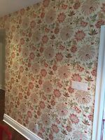 Custom quality painting services  / wallpaper installation