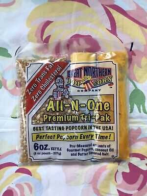 Popcorn Kernels Unpopped All In One Easy Storage 8 Oz. Pack