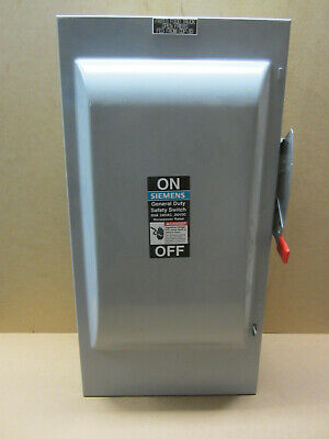 Siemens 200 Amp 240-volt 3-pole Non-fusible General Duty Safety Switch