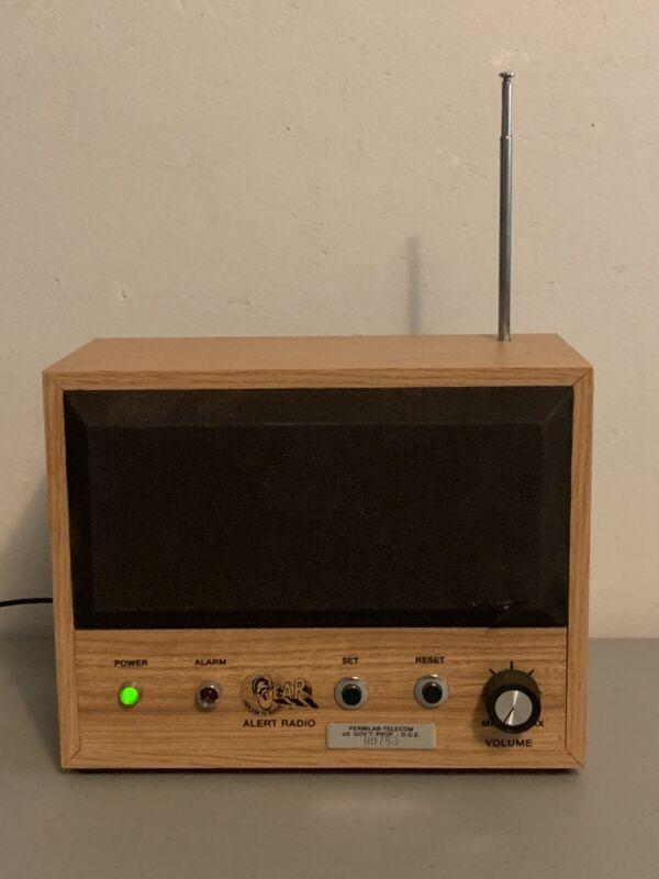 Vintage Fermi-lab Alert Radio Property US Government Rare Working