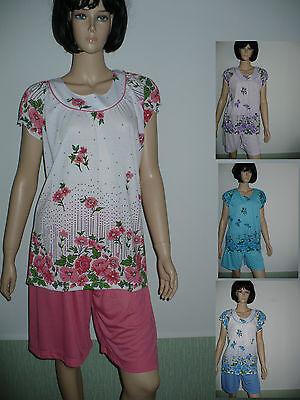 Modal Schlafen Kurz (Damen Schlafanzug, Shorty ,kurz,  Baumwolle/Modal , Baumwolle )