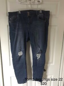 Plus size jeans and bottoms! (Torrid)