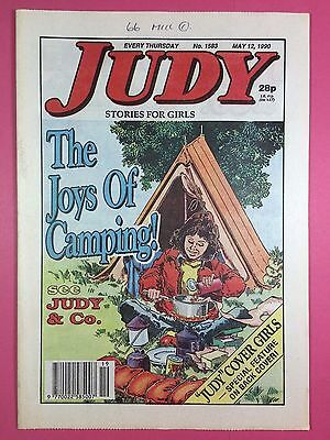 JUDY - Stories For Girls - No.1583 - May 12, 1990 - Comic Style Magazine