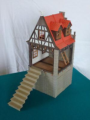 Playmobil Fachwerkhaus, Haus Steintreppe, Ritterburg 3666 (932)