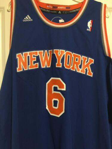New York Knicks Chandler #6 Size XL Blue Adidas NEW Authenti