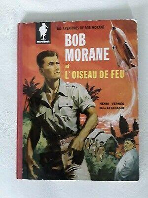Ancienne BD BOB MORANE et l'oiseau de feu EO 1960 Vernes Attanasio Marabout
