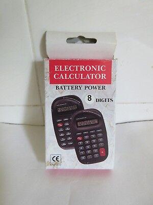 ELECTRONIC POCKET CALCULATOR  - BOX 30