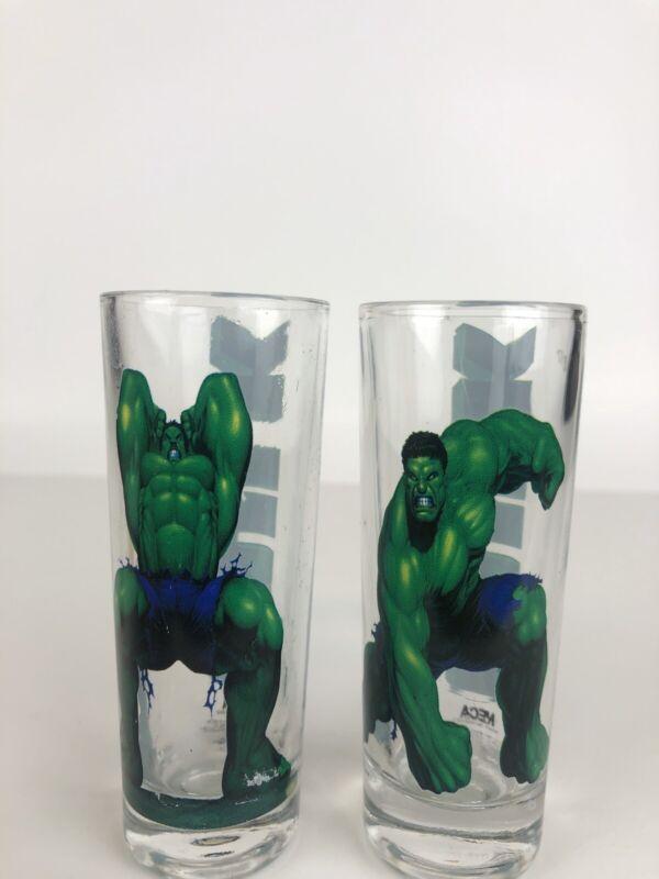 Set Of 2003 Hulk Shot Glasses