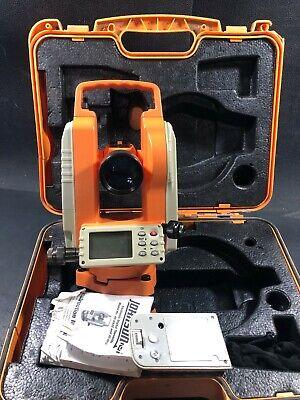 Johnson Level Tilt Sensor Dual Display Digital Theodolite Model 40-6935