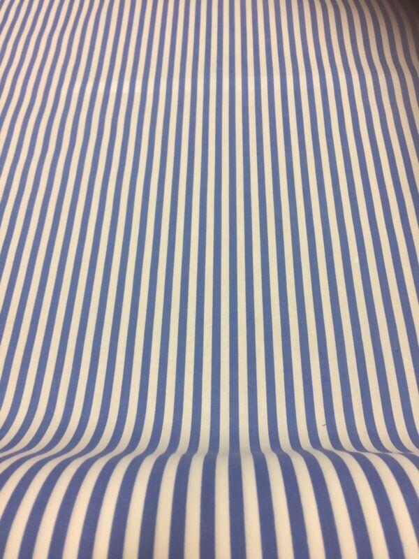 Stripe+Polycotton+Fabric