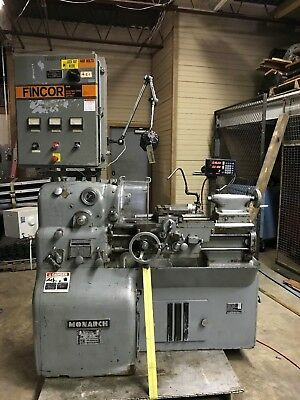 Monarch 10-ee 12-12 X 20 Precision Tool Room Lathe