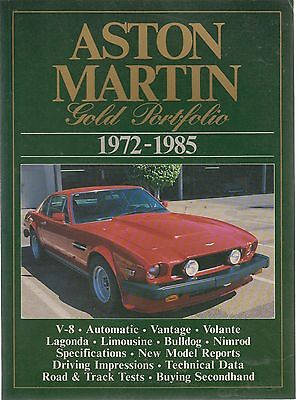 ASTON MARTIN V8 VANTAGE VOLANTE LAGONDA BULLDOG NIMROD 1972-1985 ROAD TESTS BOOK