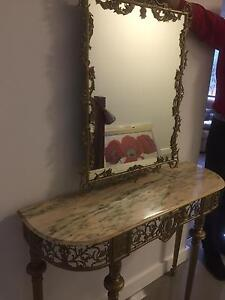 Mirror with console Willoughby Willoughby Area Preview